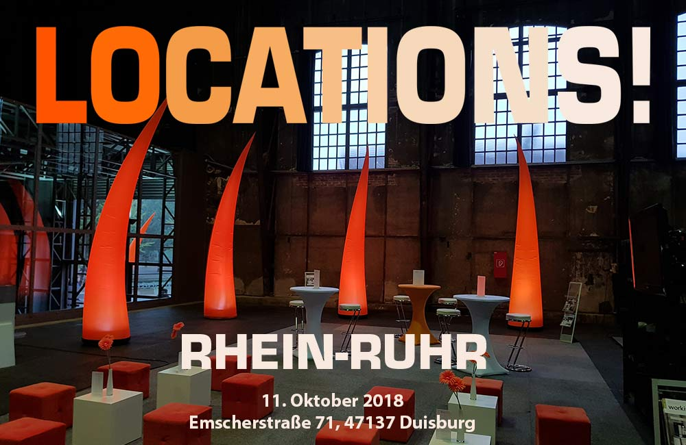 LOCATIONS! Rhein-Ruhr Am 11. Oktober In Duisburg