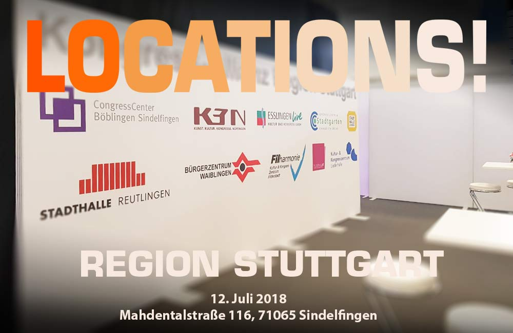 LOCATIONS! Region Stuttgart Am 12. Juli In Sindelfingen