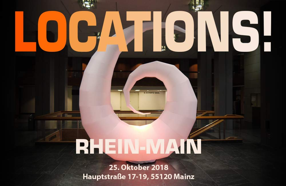 LOCATIONS! Rhein-Main Am 25. Oktober In Mainz