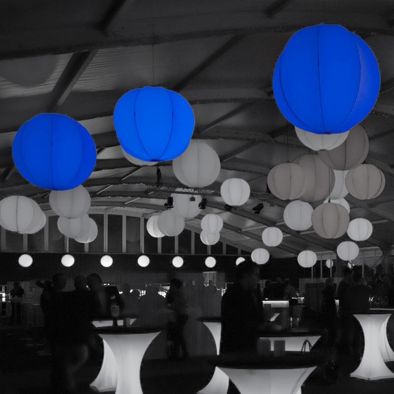 PLANET Abgehängte Kugel Mit Integrierbarer LED-Beleuchtung