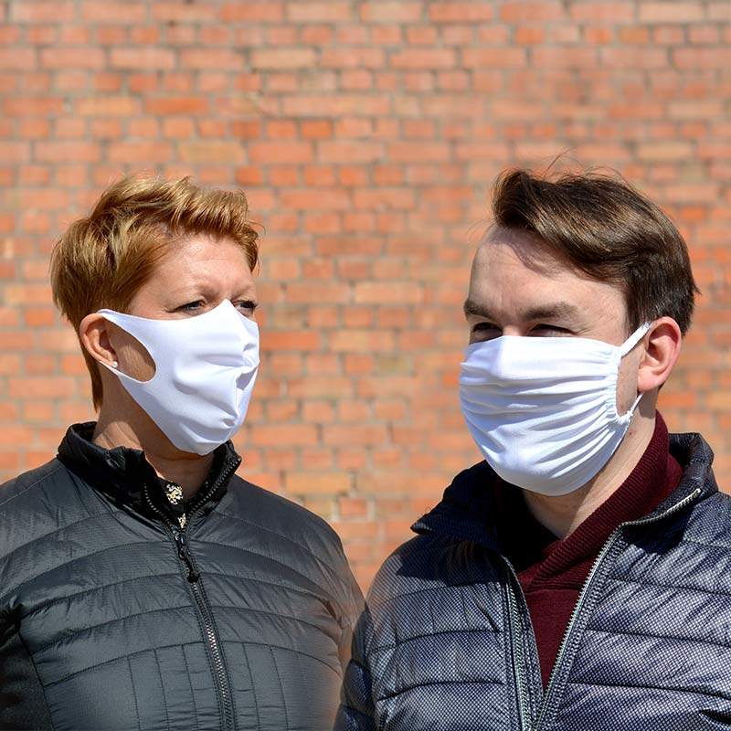 Wiederverwendbare Und Waschbare Mund-Nasen-Maske