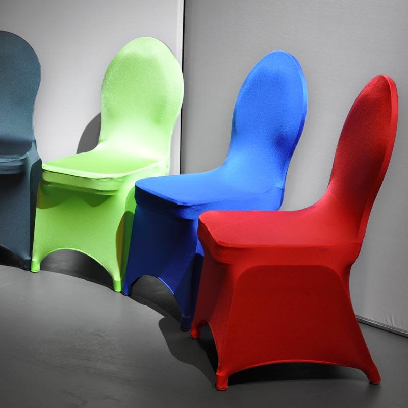 SELARIA Stretch-Stuhl-Husse Mit Integrierten Schutzkappen