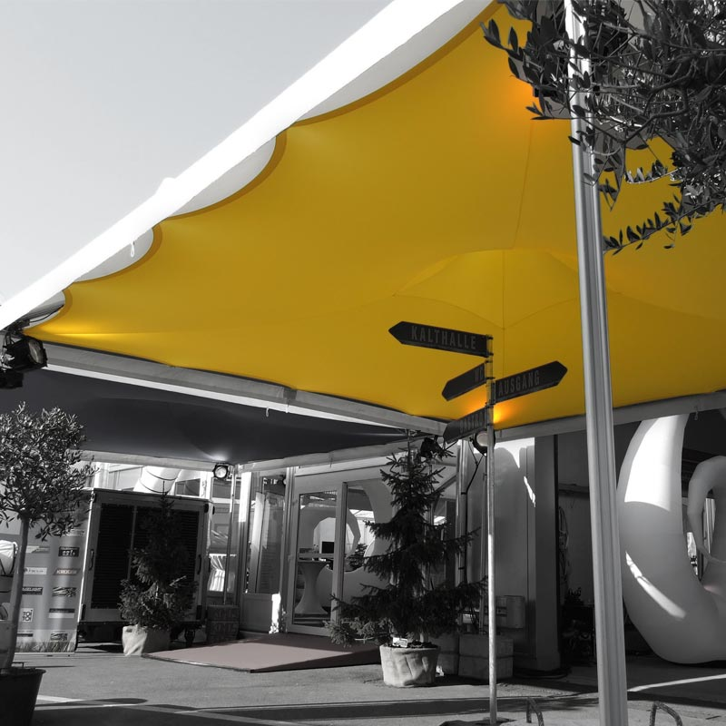 SKY Stretch-Innenhimmel Für Pagodenzelte Und Pavillons