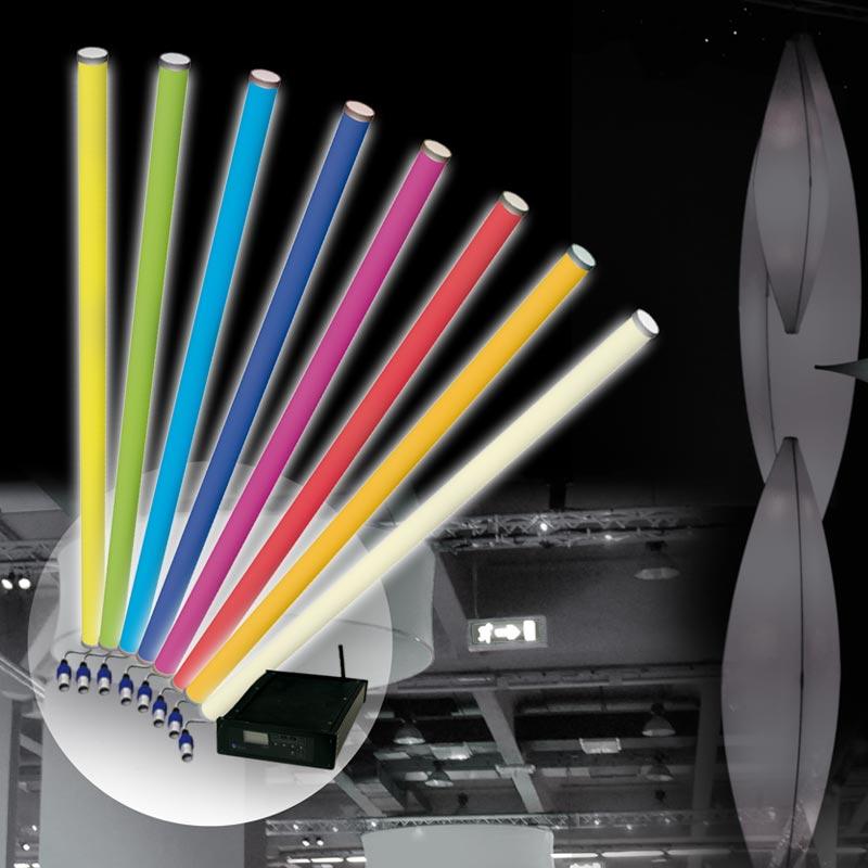SPACE LIGHT HD LED-Röhren Mit Hoher Leistungsfähigkeit