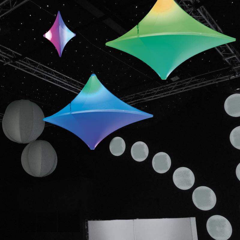 SPIN Vertikales; Horizontales Oder Diagonales Objekt Für Den Luftraum