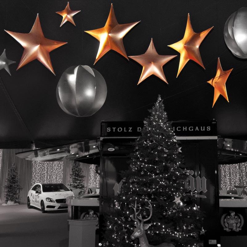 STAR Sternform Für Winterliche Und Festliche Themen
