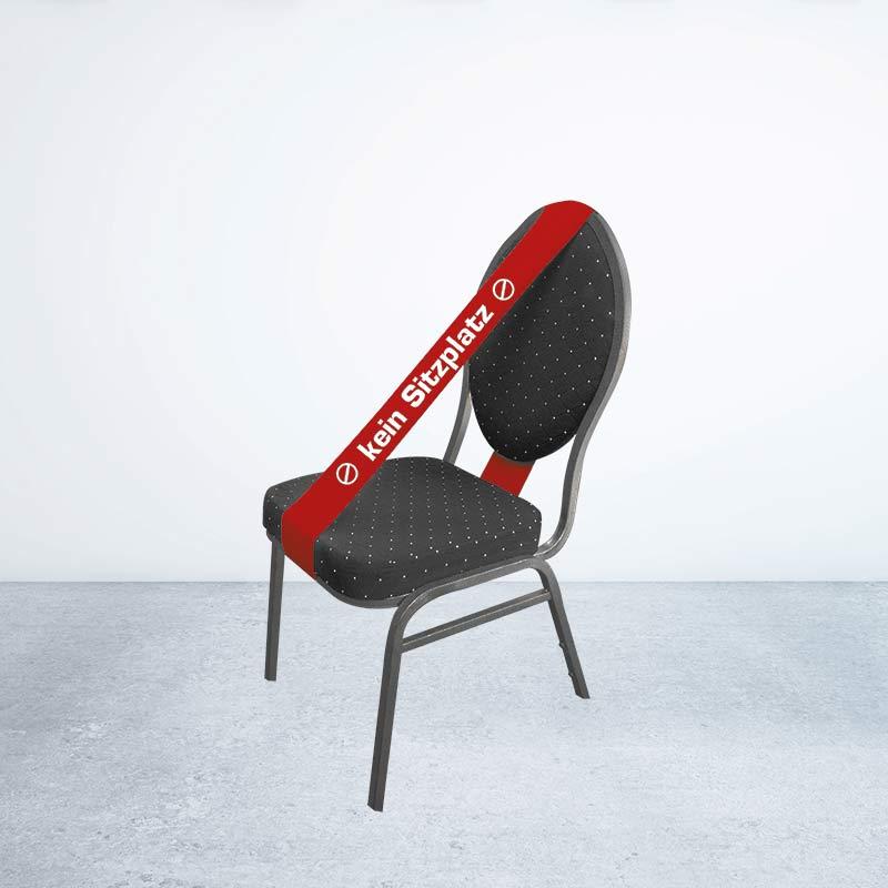 Stuhl- Und Sperrbanner