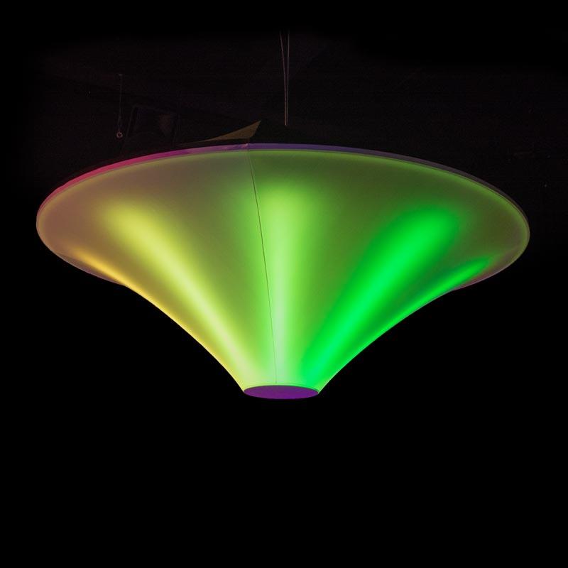 UFO Futuristischer Leuchtkörper