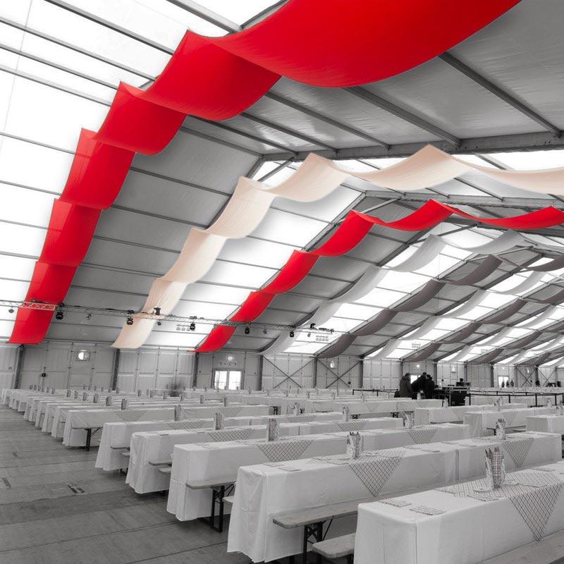 Zelt- Und Hallengestaltung Textile Bespannung