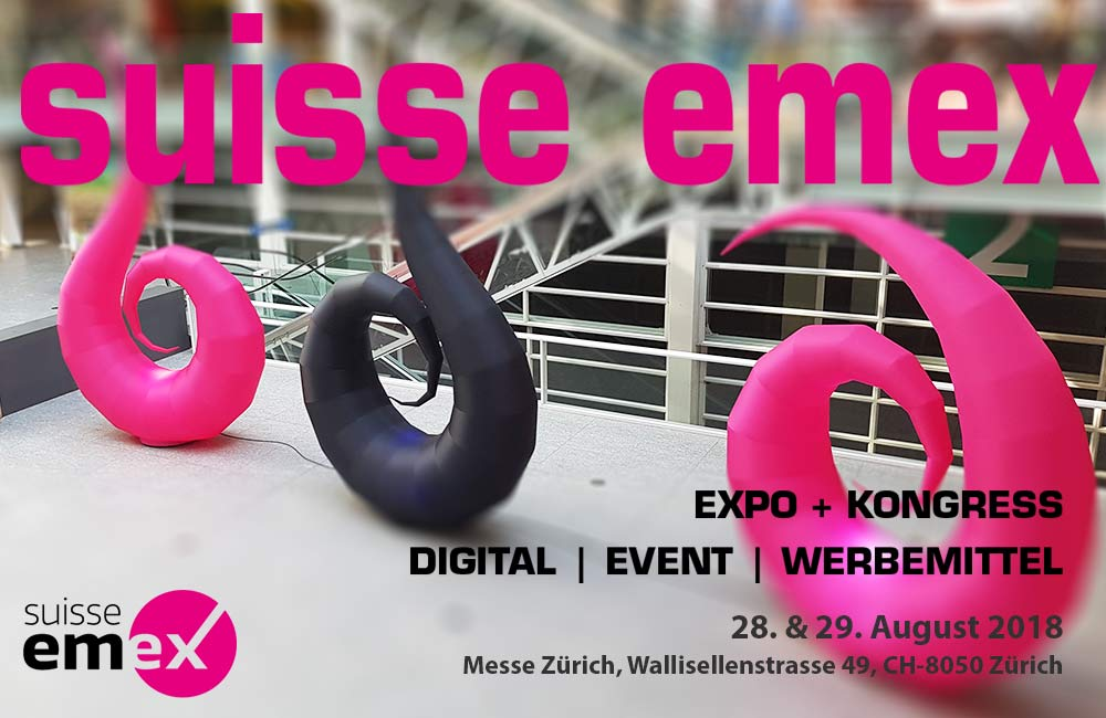 Suisse EMEX Am 28. & 29. August In Zürich